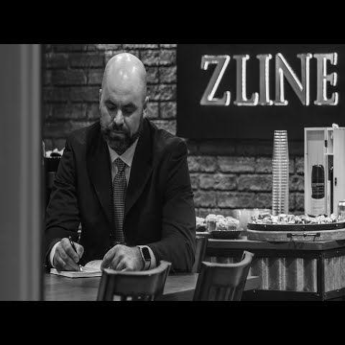 "ZLINE 36"" Designer Series Oil-Rubbed Bronze Wall Range Hood (8597B-36) **CROWN MOLDING** 21"" Depth"