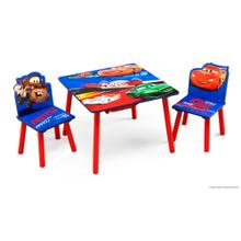 Cars Table and Chair Set Toykeep