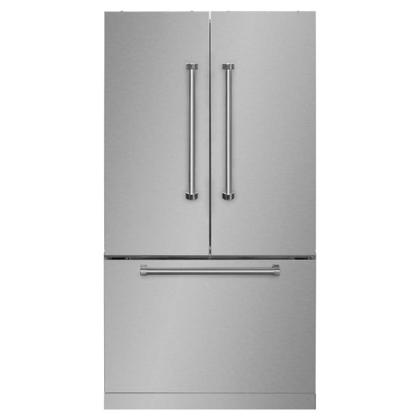 """See Details - 36"""" French Door Refrigerator with Bottom Freezer"""