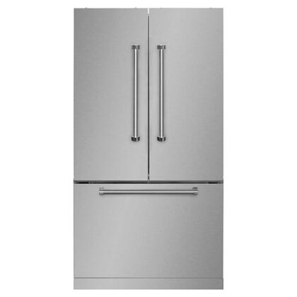 "36"" French Door Refrigerator with Bottom Freezer"