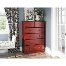 See Details - 5362 - Six Drawer Chest -Mahogany