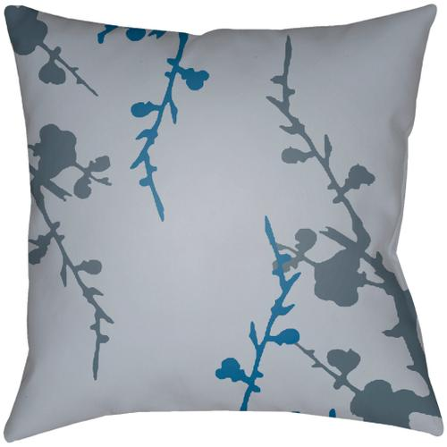 """Chinoiserie Floral CF-011 22""""H x 22""""W"""