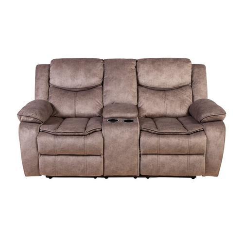 Logan Brown Reclining Sofa M6627