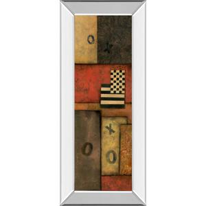 """""""Right Move I"""" By Norm Olson Mirror Framed Print Wall Art"""