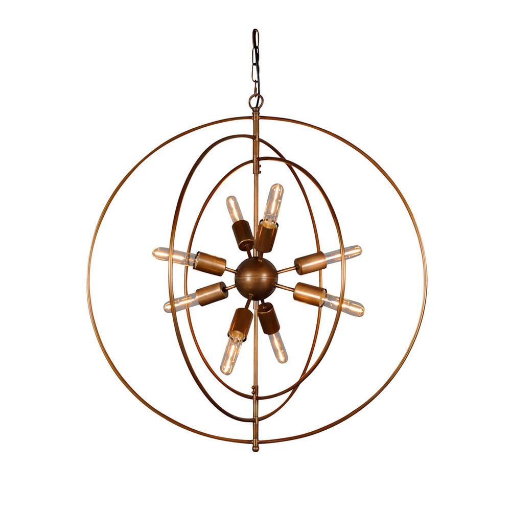 See Details - Cosmos Iron Chandelier Small w/ Bulb