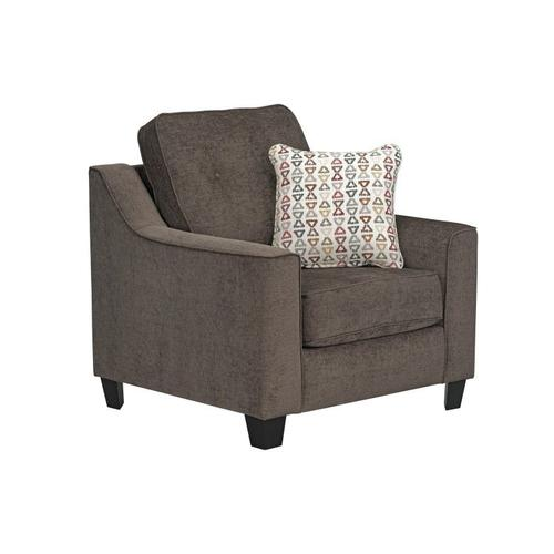 Gallery - Marco Upholstered Chair, Chocolate Brown