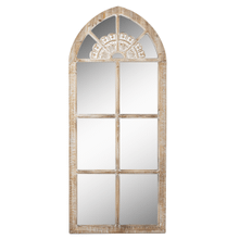 See Details - Framed Arch Window Wall Mirror
