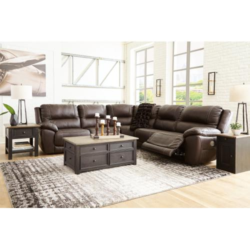 Dunleith 5-piece Power Reclining Sectional