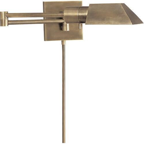 Visual Comfort 82034AN Studio 24 inch 40 watt Antique Nickel Swing-Arm Wall Sconce Wall Light