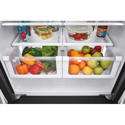 Bottom Mount Refrigerator - Stainless