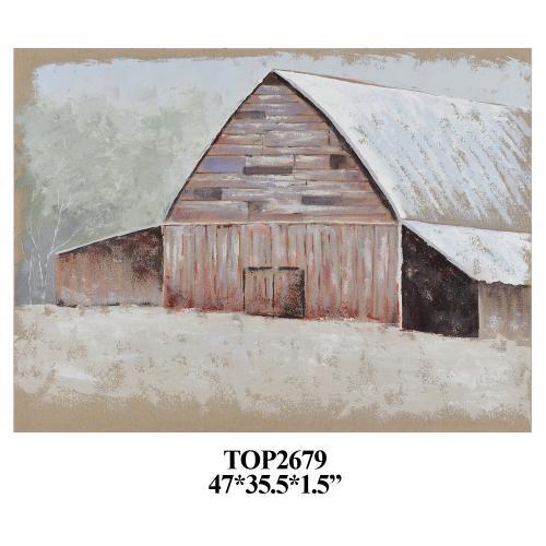 Crestview Collections - Seasonal Barn 1