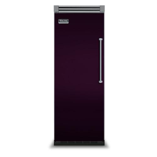 """Viking - Plum 30"""" Quiet Cool™ All Refrigerator - VIRB Tru-Flush™ (Left Hinge Door)"""