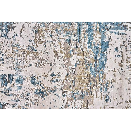 Feizy - CADIZ 3891F IN BLUE-IVORY