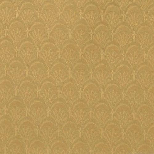 Flash Furniture - 18.5''W Church Chair in Arches Coin Fabric - Gold Vein Frame