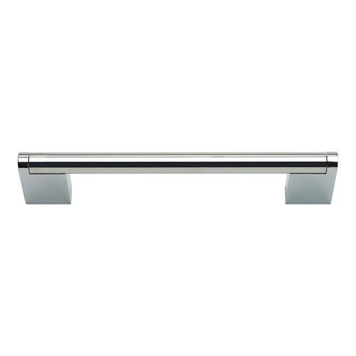 Atlas Homewares - Round 3 Point Pull 5 1/16 Inch (c-c) - Polished Stainless Steel