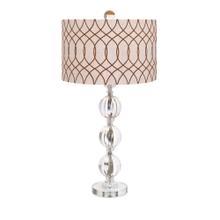 BF Avena Acrylic and Crystal Table Lamp