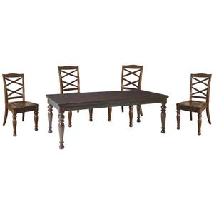 Ashley - Dining Table and 4 Chairs