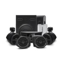View Product - 400 Watt Amplified Stereo, Front Lower Speaker, Subwoofer, and Rear Speaker Kit for select YXZ®