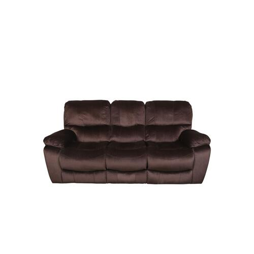 Ramsey Chocolate Reclining Sofa, M6012
