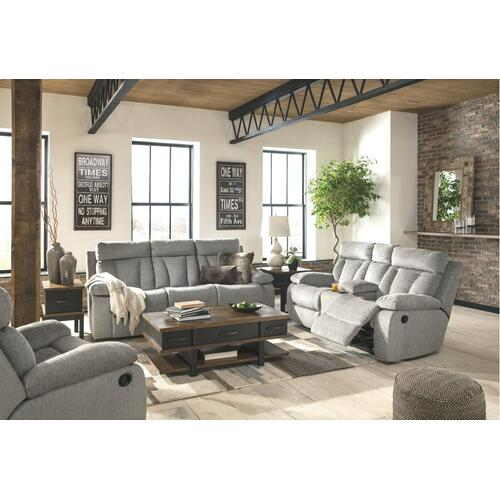 Mitchiner Reclining Loveseat w/Console