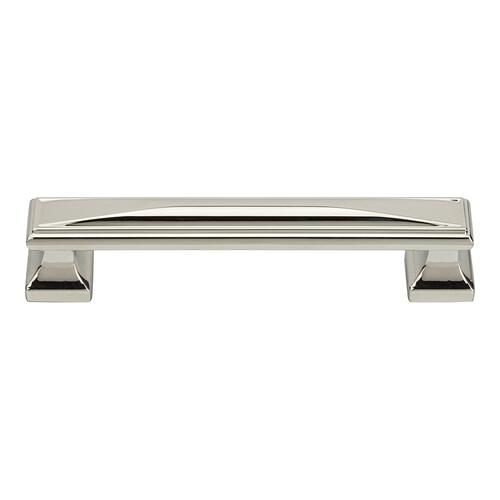 Wadsworth Pull 5 1/16 Inch (c-c) - Polished Nickel