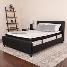 Capri Comfortable Sleep 12 Inch Memory Foam and Pocket Spring Mattress, Full Mattress in a Box