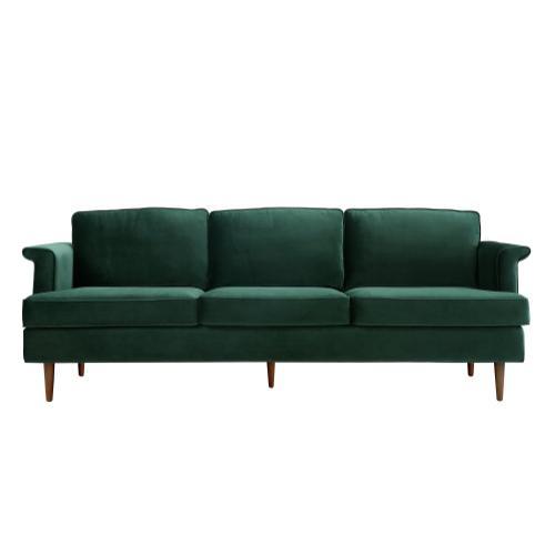 Tov Furniture - Porter Forest Green Velvet Sofa