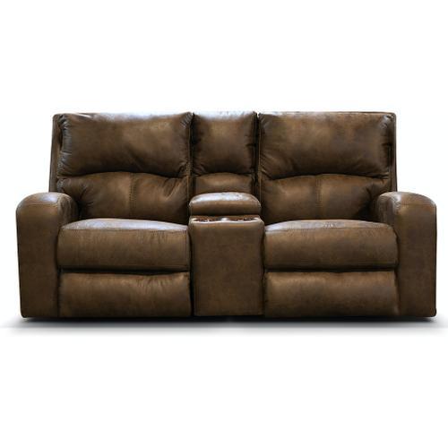England Furniture - EZ2285H EZ2200H Double Reclining Loveseat Console