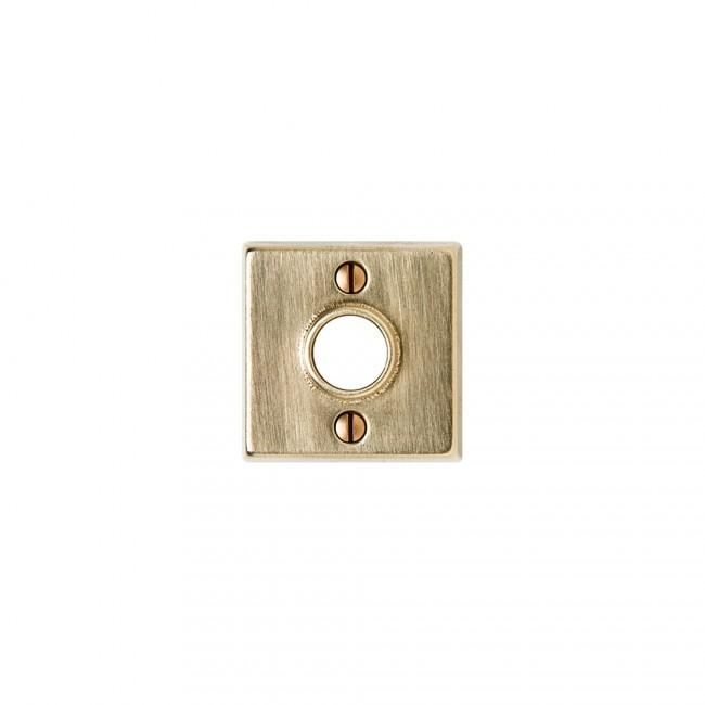 "Metro 2 1/4"" Square Silicon Bronze Brushed"