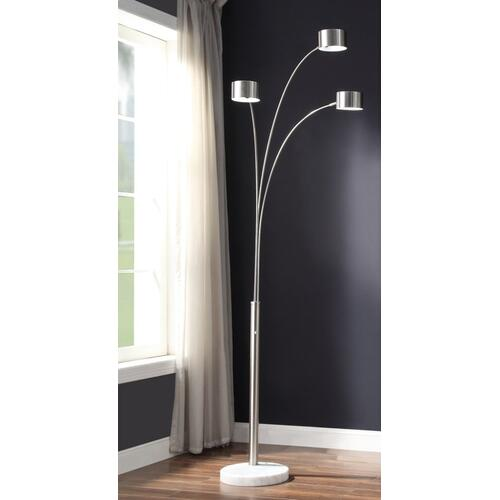 "Gallery - 85.5""H 3 Arm Arc Floor Lamp"