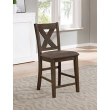 7797 Wire Brushed Counter Height Chair