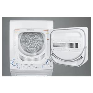 GE Unitized Spacemaker® 2.2 DOE cu. ft. Washer and 4.4 cu. ft. Gas Dryer