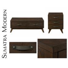 Sumatra Modern Sofa/media Console