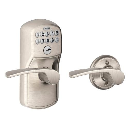 Schlage - Plymouth Style Keypad Merano Lever with Auto Lock