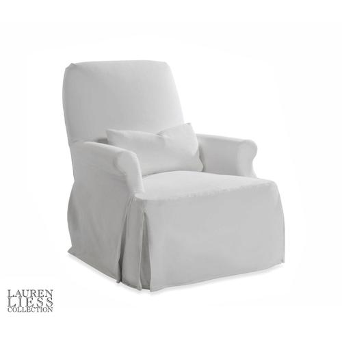 Taylor King - Thinking Slipcovered Chair