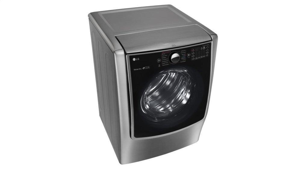 9.0 cu. ft. Large Smart wi-fi Enabled Electric Dryer w/ TurboSteam™ Photo #3