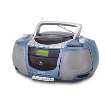 Portable Stereo MP3/CD/Cassette Player with AM/FM Radio