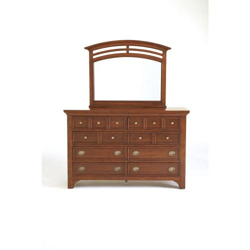 Modern Country Double Dresser