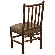 Spoke Side Chair - Natural Hickory - Standard Leather