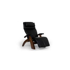 Perfect Chair ® PC-LiVE™ - Black Premium Leather - Walnut