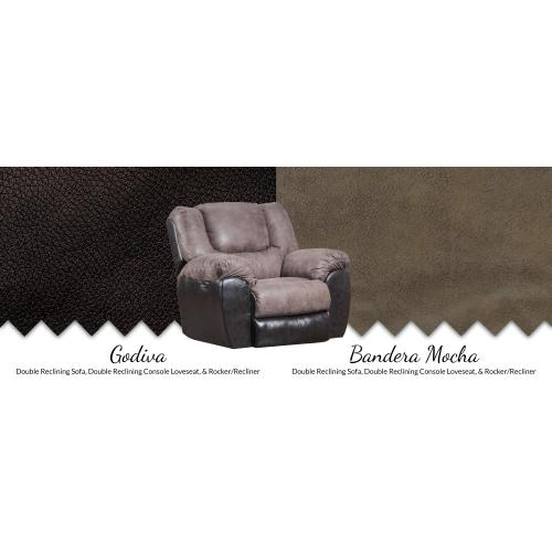 Product Image - Double Reclining Console Loveseat