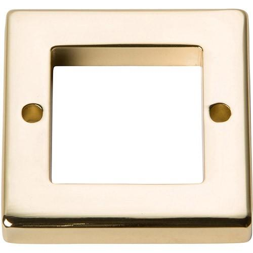 Tableau Square Base 1 7/16 Inch - French Gold