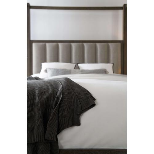 Miramar Aventura Jackson Queen Poster Bed w-Tall Posts & Canopy