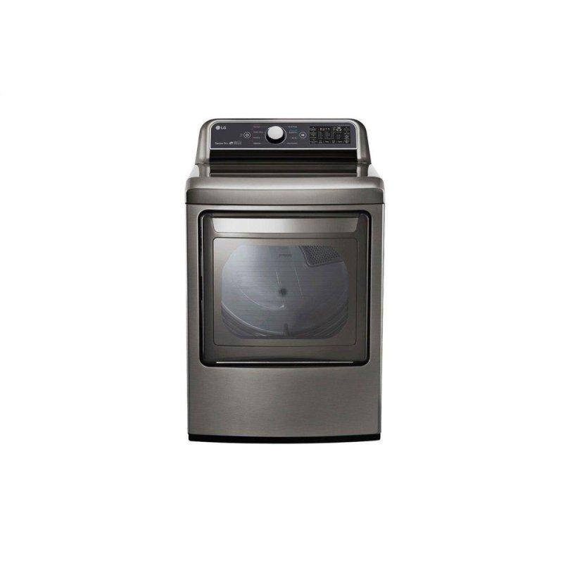 7.3 cu. ft. Ultra Large Capacity Smart wi-fi Enabled Gas Dryer with Sensor Dry Technology