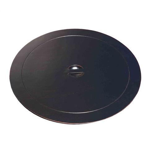 Outdoor Fire Pit : Solid Round Cover