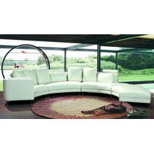 Divani Casa 2254 - Modern Bonded Leather Sectional Sofa