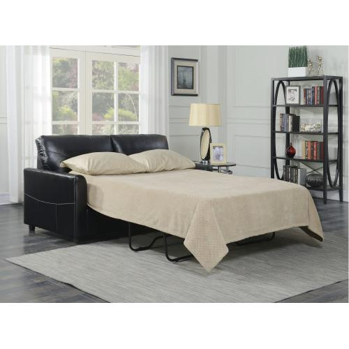 Emerald Home Slumber Full Sleeper W/gel Foam Mattress Black U3215-46-26