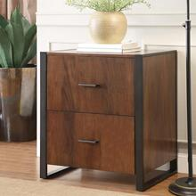 File Cabinet - Casual Walnut Finish