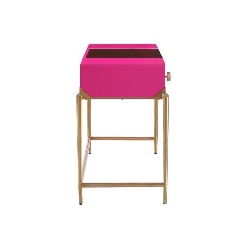 Bajo Pink Lacquer Desk