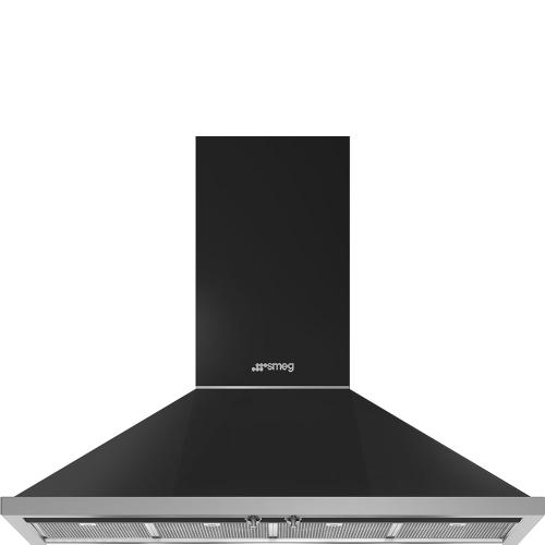 "48"" Portofino Chimney Hood, Anthracite"